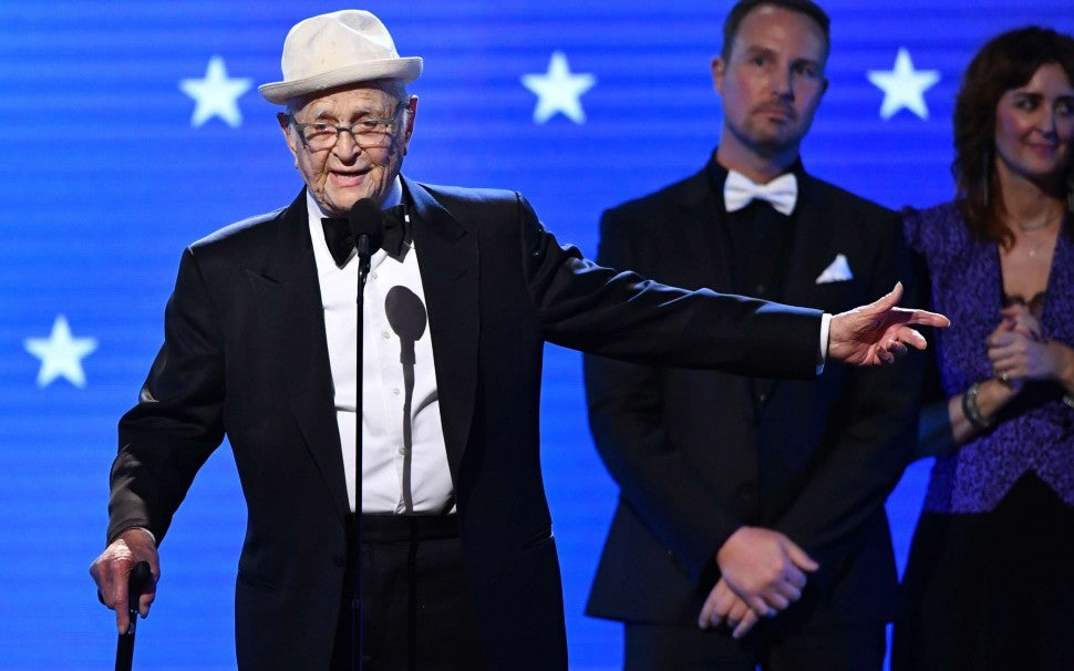Norman Lear at the 2020 Critics' Choice Awards