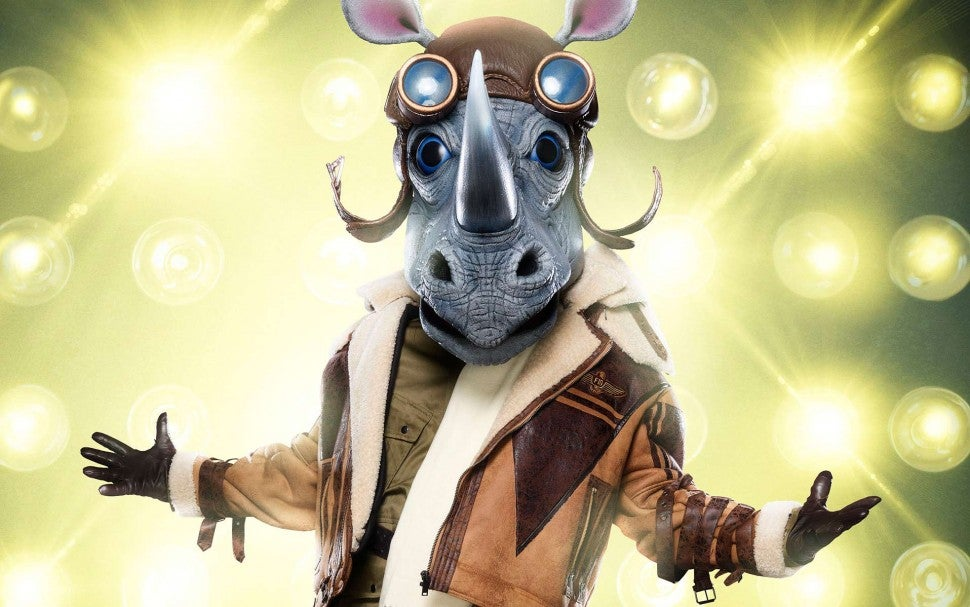 The Rhino on The Masked Singer