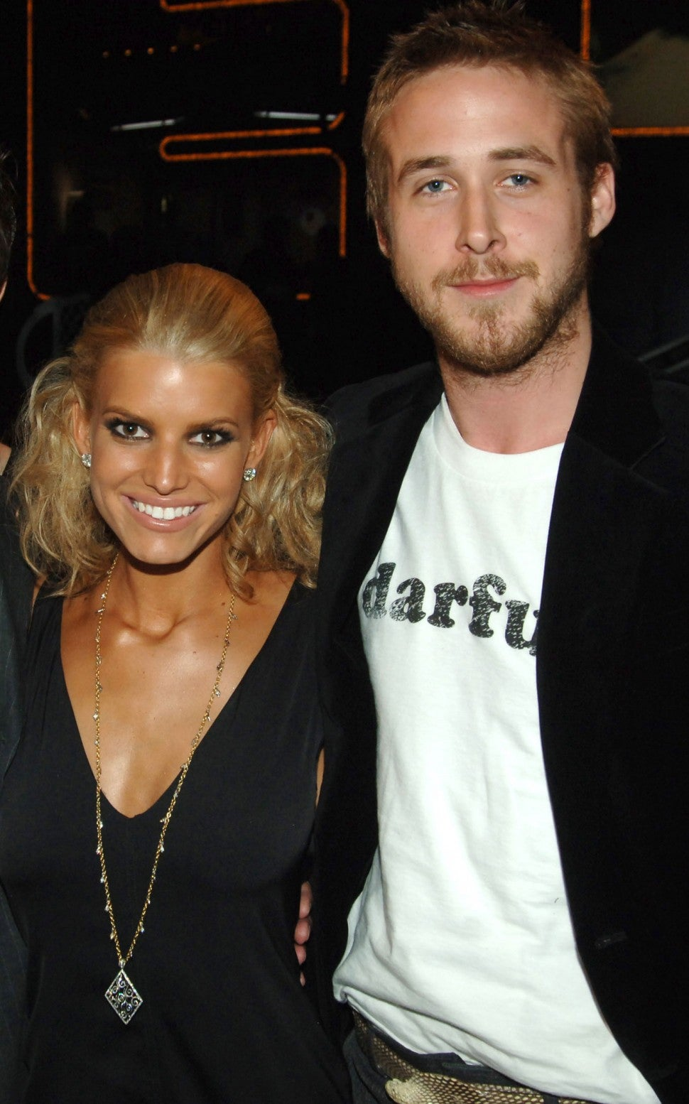 Jessica Simpson and Ryan Gosling