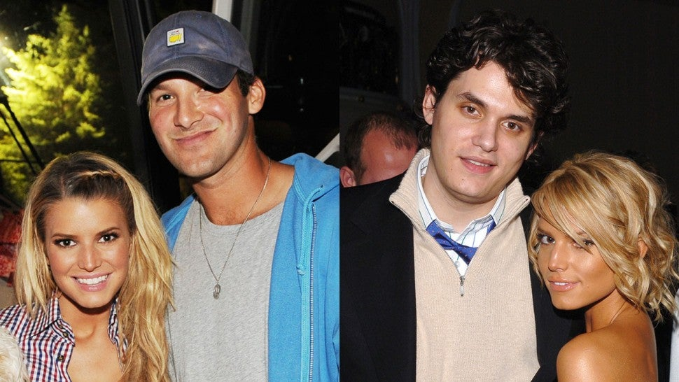 Jessica Simpson, Tony Romo and John Mayer