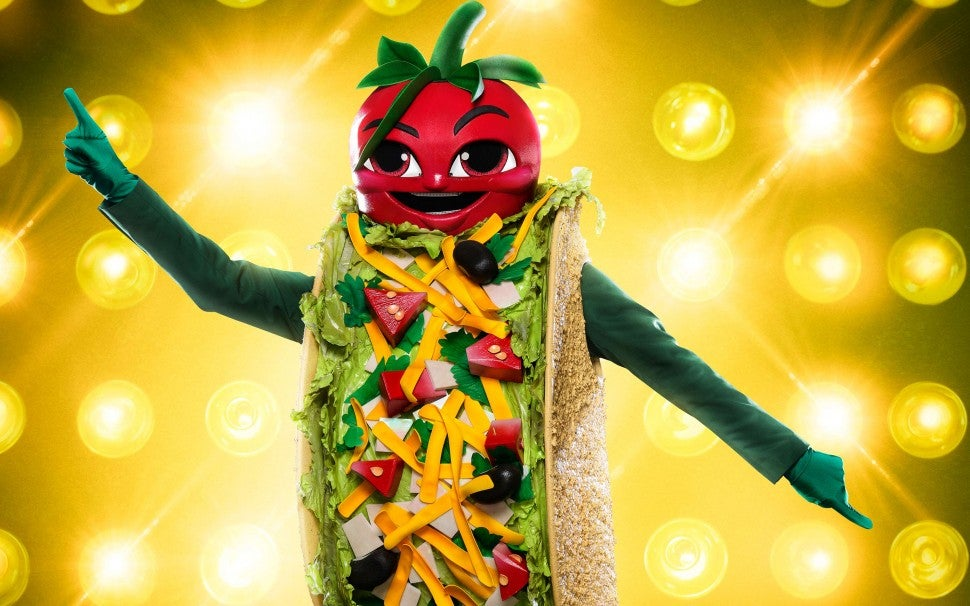 The Taco on The Masked Singer
