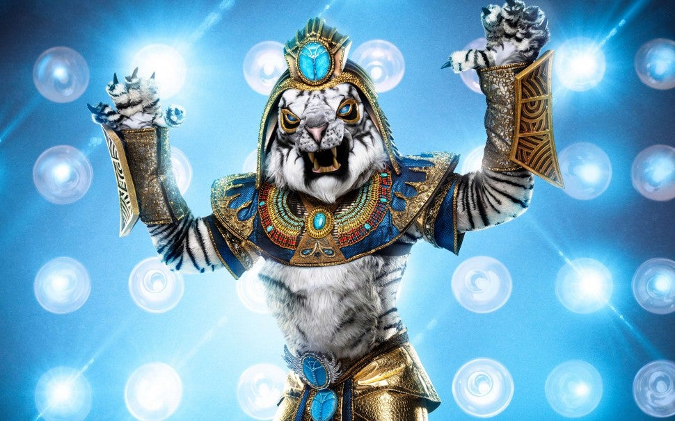 The White Tiger on The Masked Singer