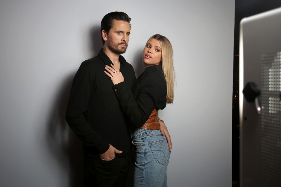 Scott Disick and Sofia Richie at the Rolla's x Sofia Richie Launch Event