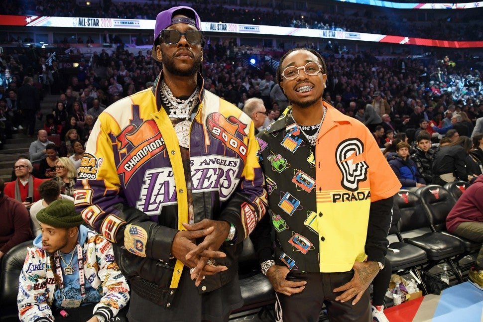 2 Chainz and Quavo