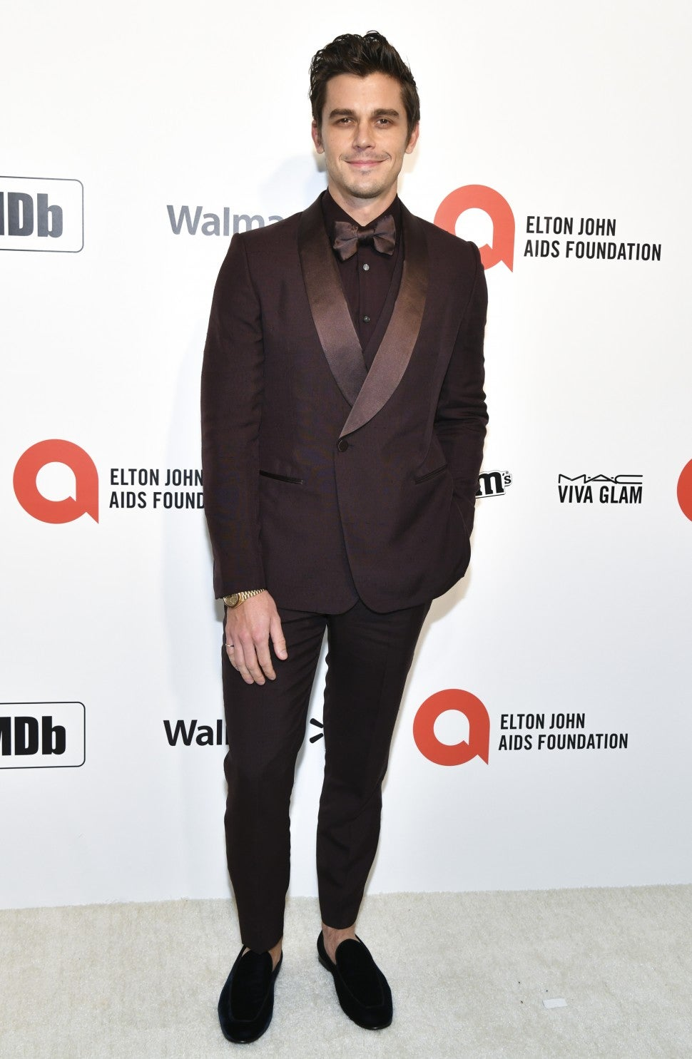 Antoni Porowski attends 2020 Oscars party.