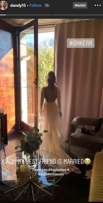 Taylor Dye Wedding