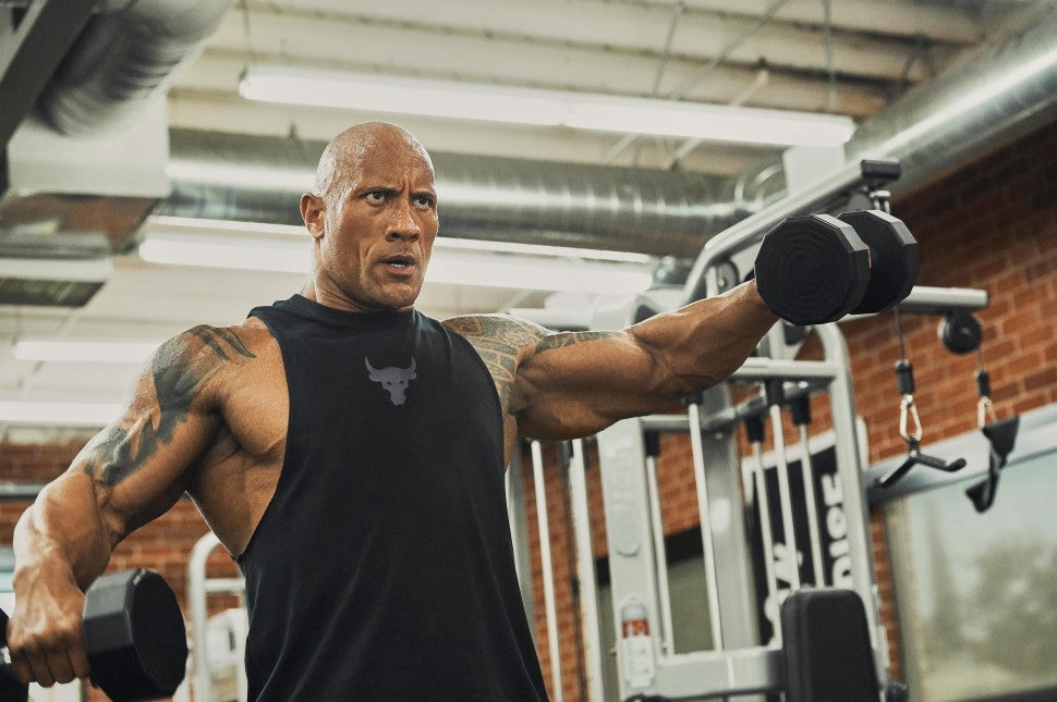 The Rock Under Armour campaign