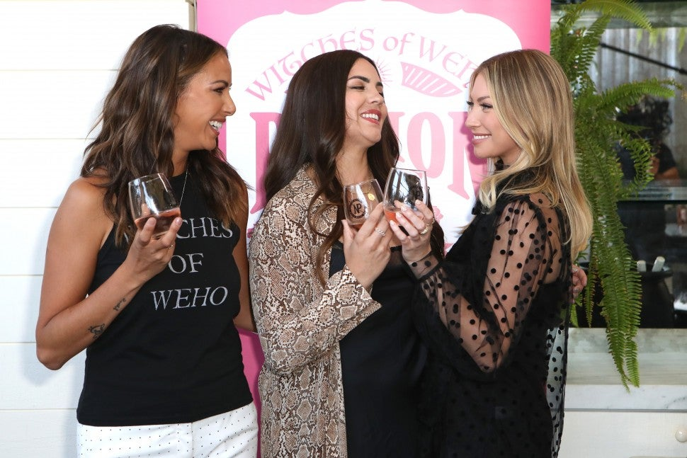 Kristen Doute, Katie Maloney-Schwartz and Stassi Schroeder of Bravo's 'Vanderpump Rules.'