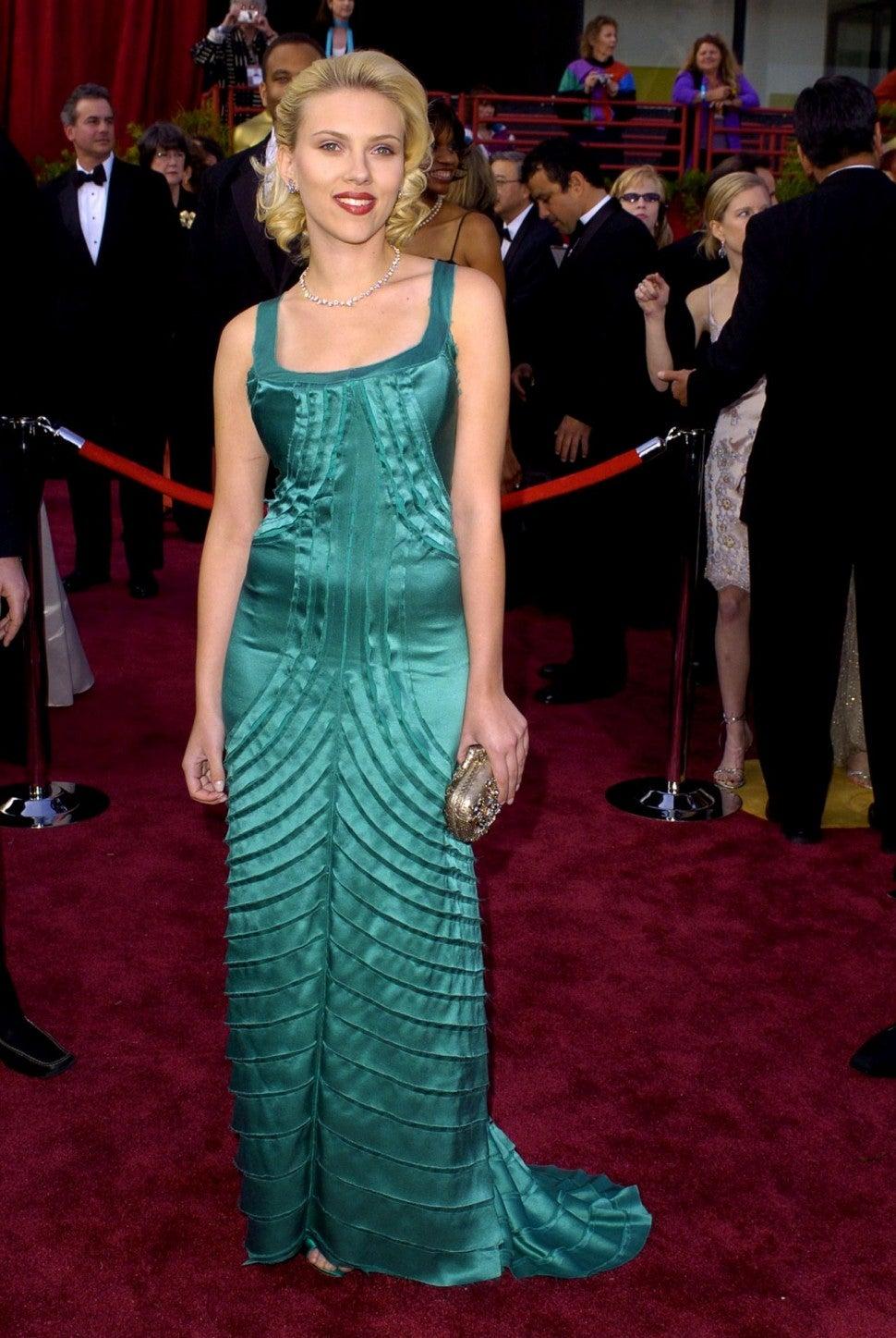Scarlett Johansson 2004 Oscars