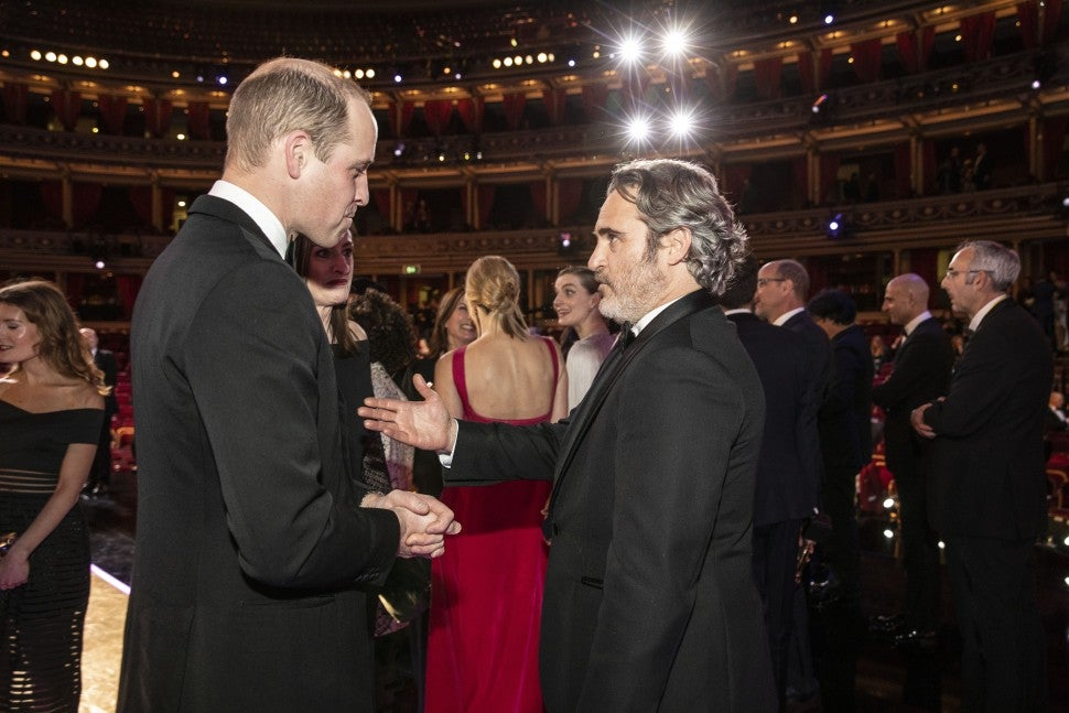 Prince William, Joaquin Phoenix