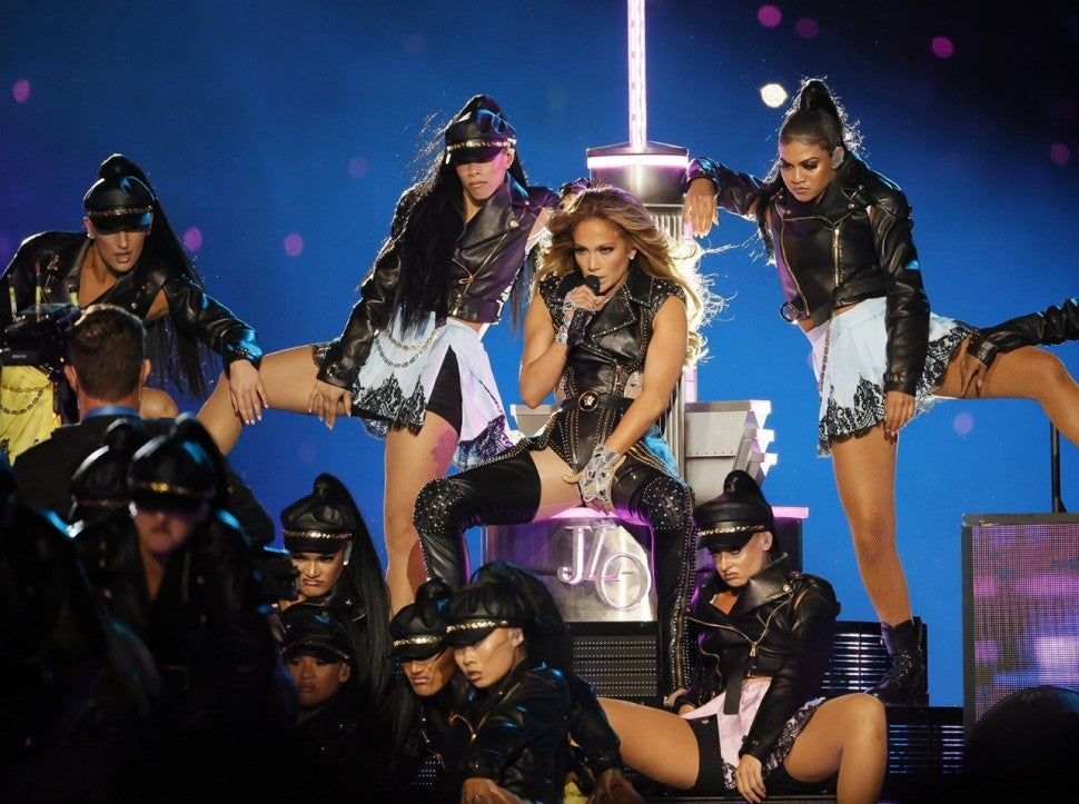 Jennifer Lopez Super Bowl