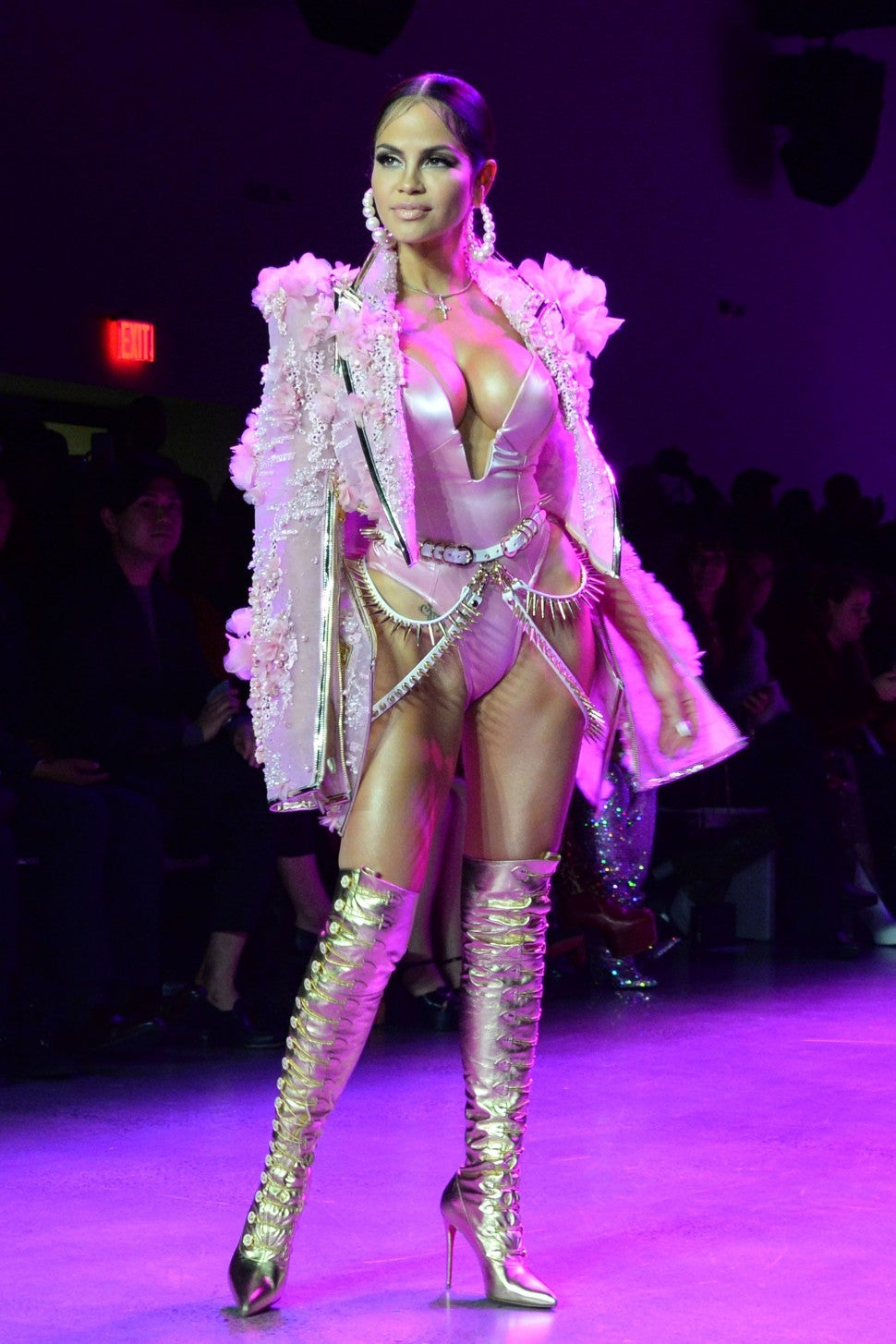 The Blonds NYFW Show Natti Natasha