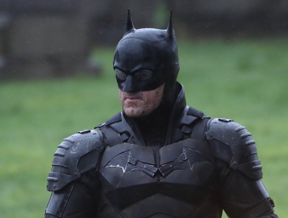 The Batman suit