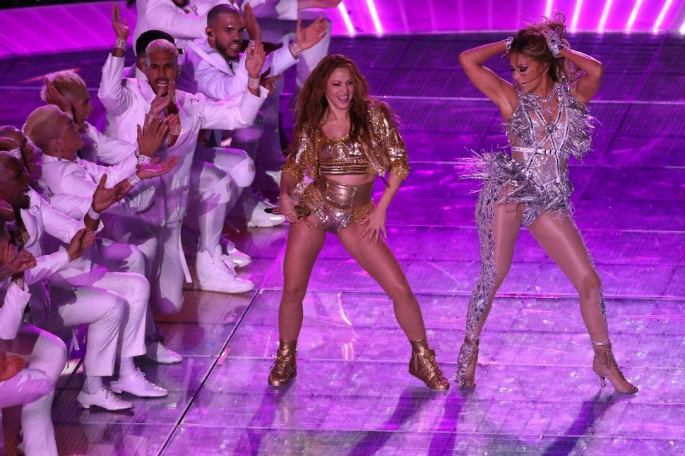 Jennifer Lopez Shakira Super Bowl
