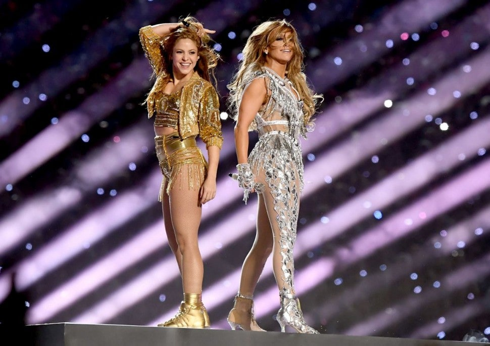Shakira and Jennifer Lopez Super Bowl