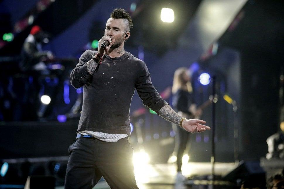 Adam Levine Chile Concert