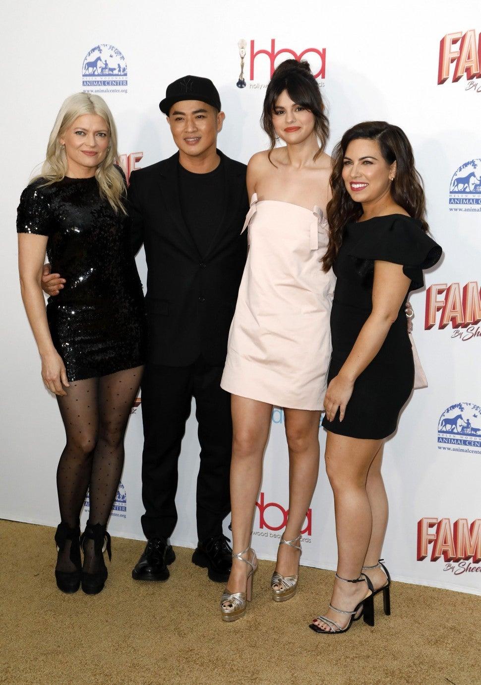 Kate Young, Hung Vanngo, Selena Gomez and Marissa Marino