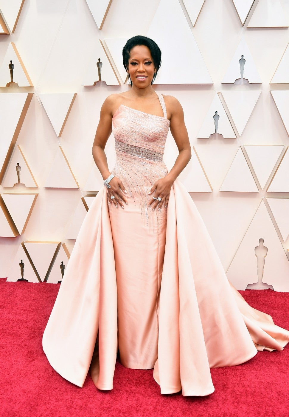 Regina King at the 92nd Annual Academy Awards