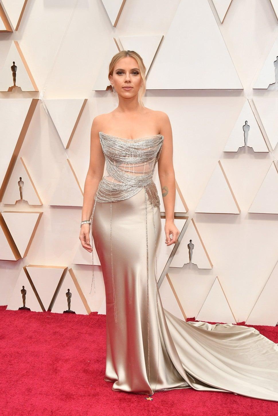 Scarlett Johansson 2020 Oscars