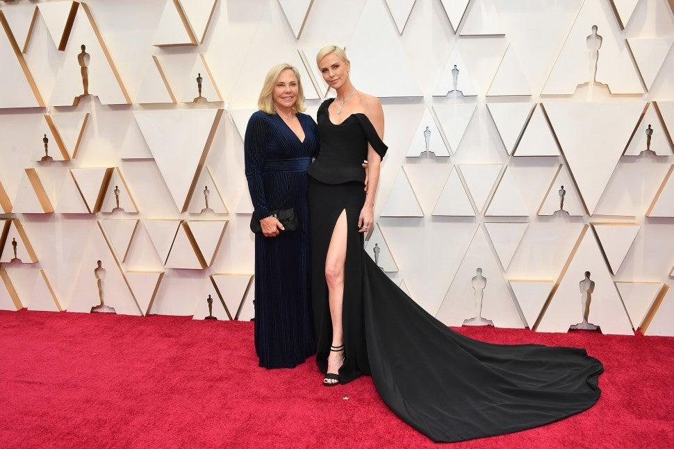 Gerda Jacoba Aletta Maritz and Charlize Theron 2020 Oscars