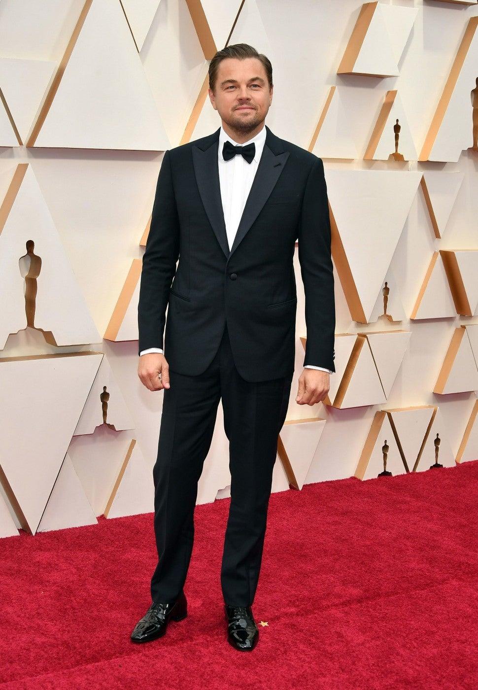 Leonardo DiCaprio at the 92nd Annual Academy Awards
