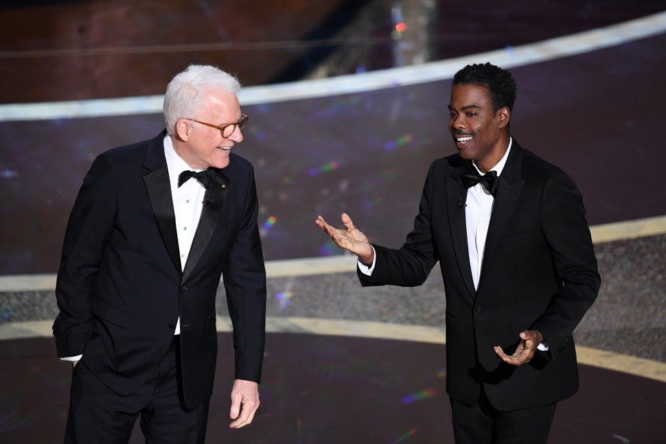 steve martin chris rock oscars 2020