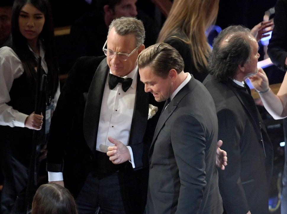 Tom Hanks and Leonardo DiCaprio
