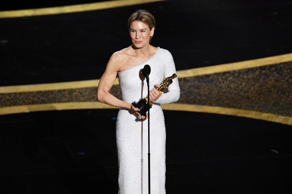 Renee Zellweger 2020 Oscars