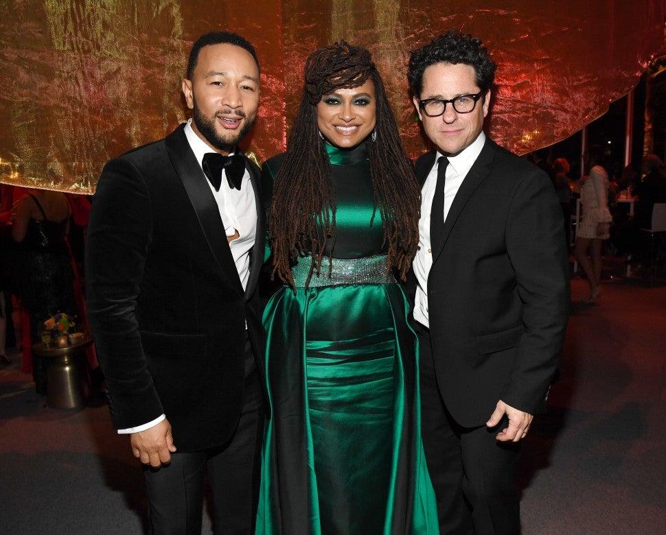 John Legend, Ava DuVernay, and J.J. Abrams