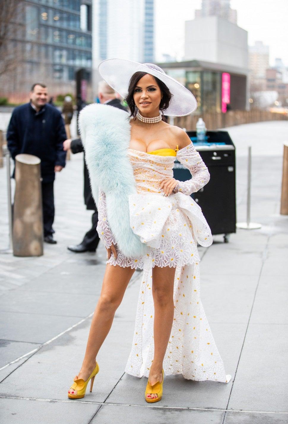 Carolina Herrera Natti Natasha NYFW