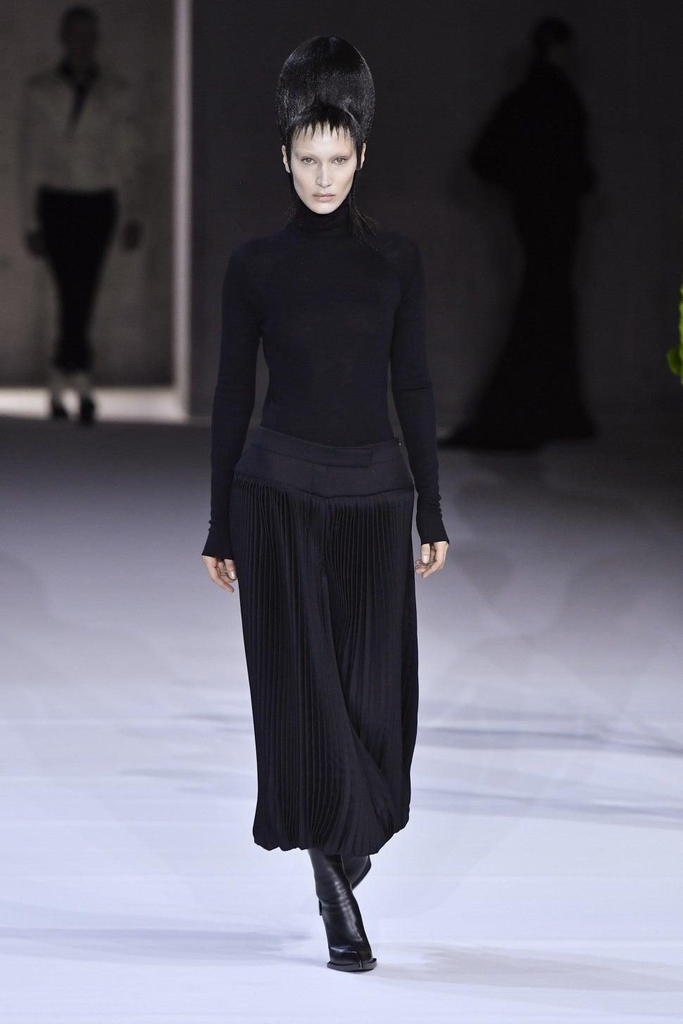 Bella Hadid Haider Ackermann  2020