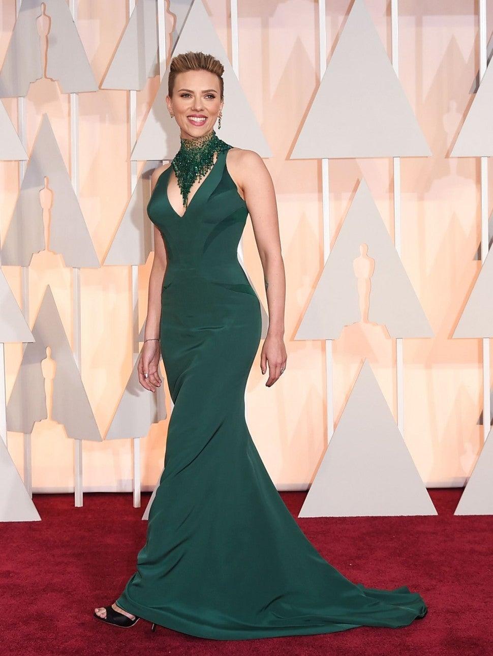 Scarlett Johansson Oscars 2015