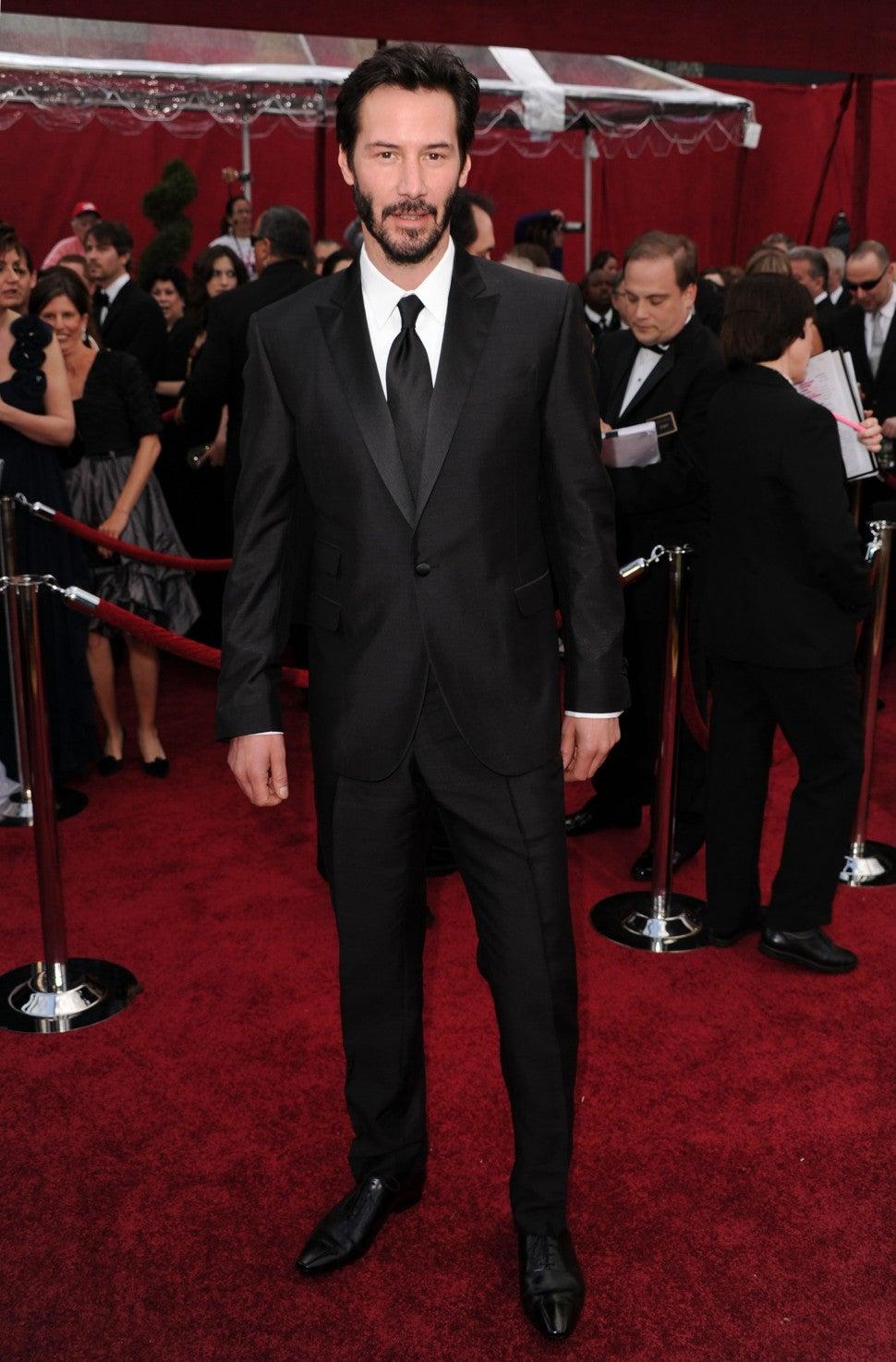 Keanu Reeves at 2010 Oscars