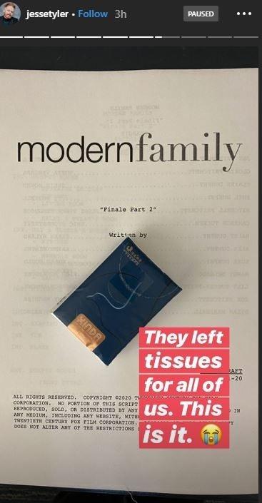 Jesse Tyler Ferguson Modern Family Final Table Read