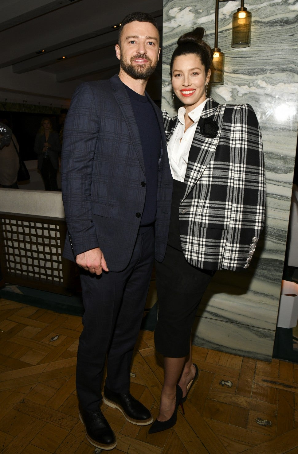 Justin Timberlake and Jessica Biel at 'The Sinner' Season 3 Premiere