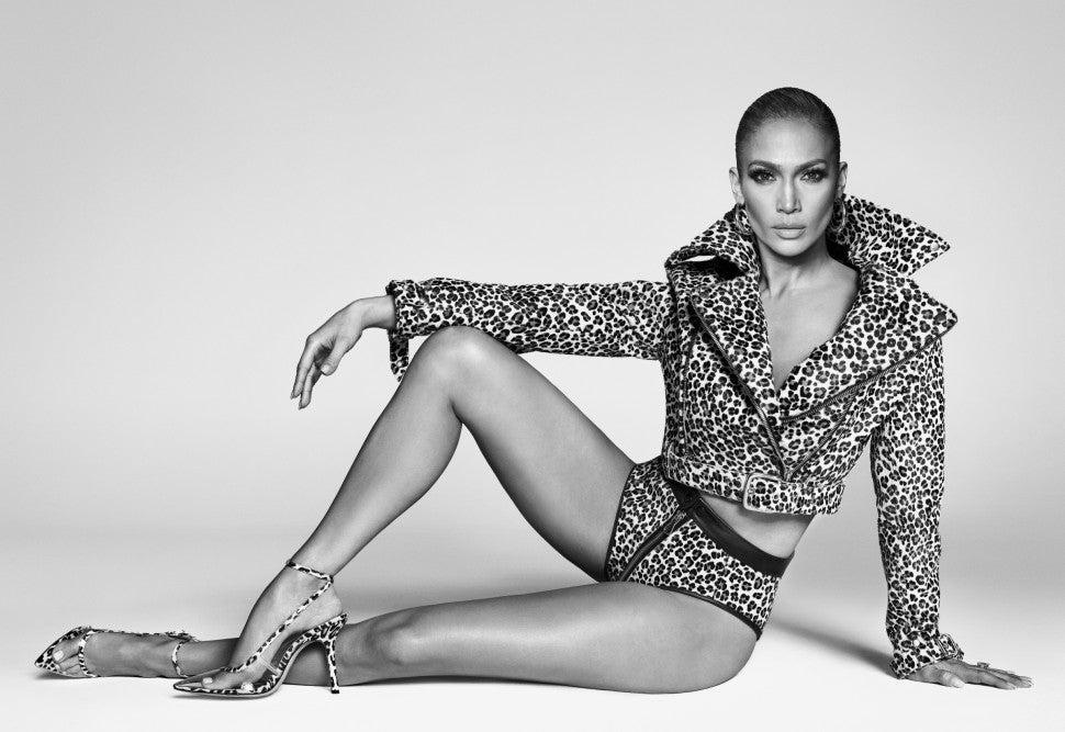 Jennifer Lopez DSW shoe line campaign image