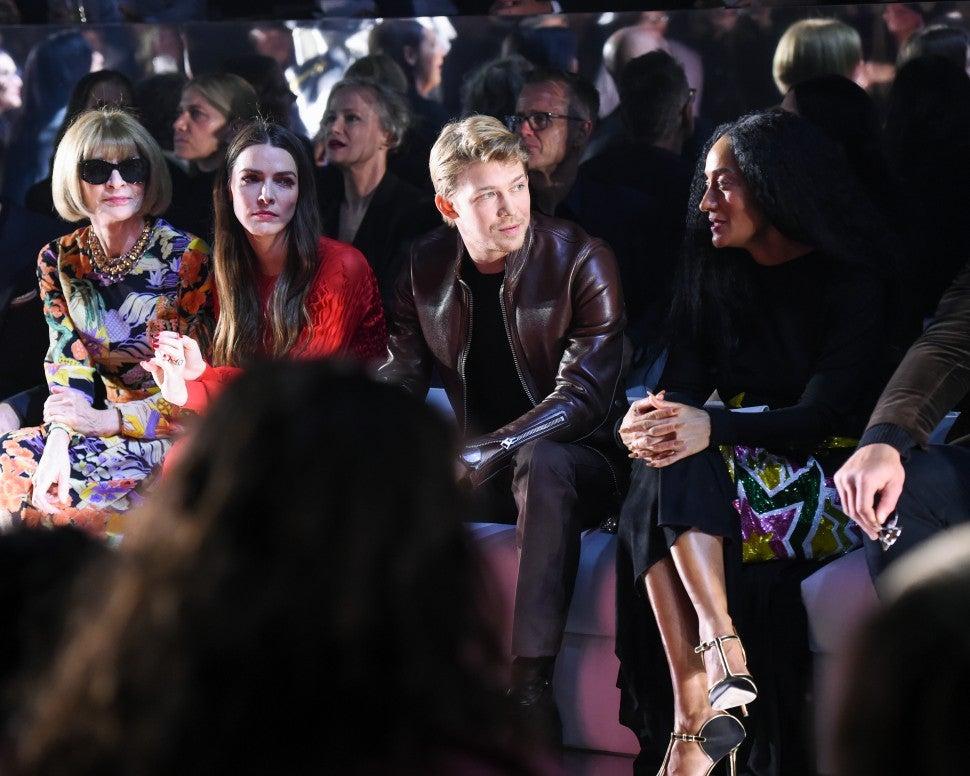 Joe Alwyn at Tom Ford F/W 2020 fashion show