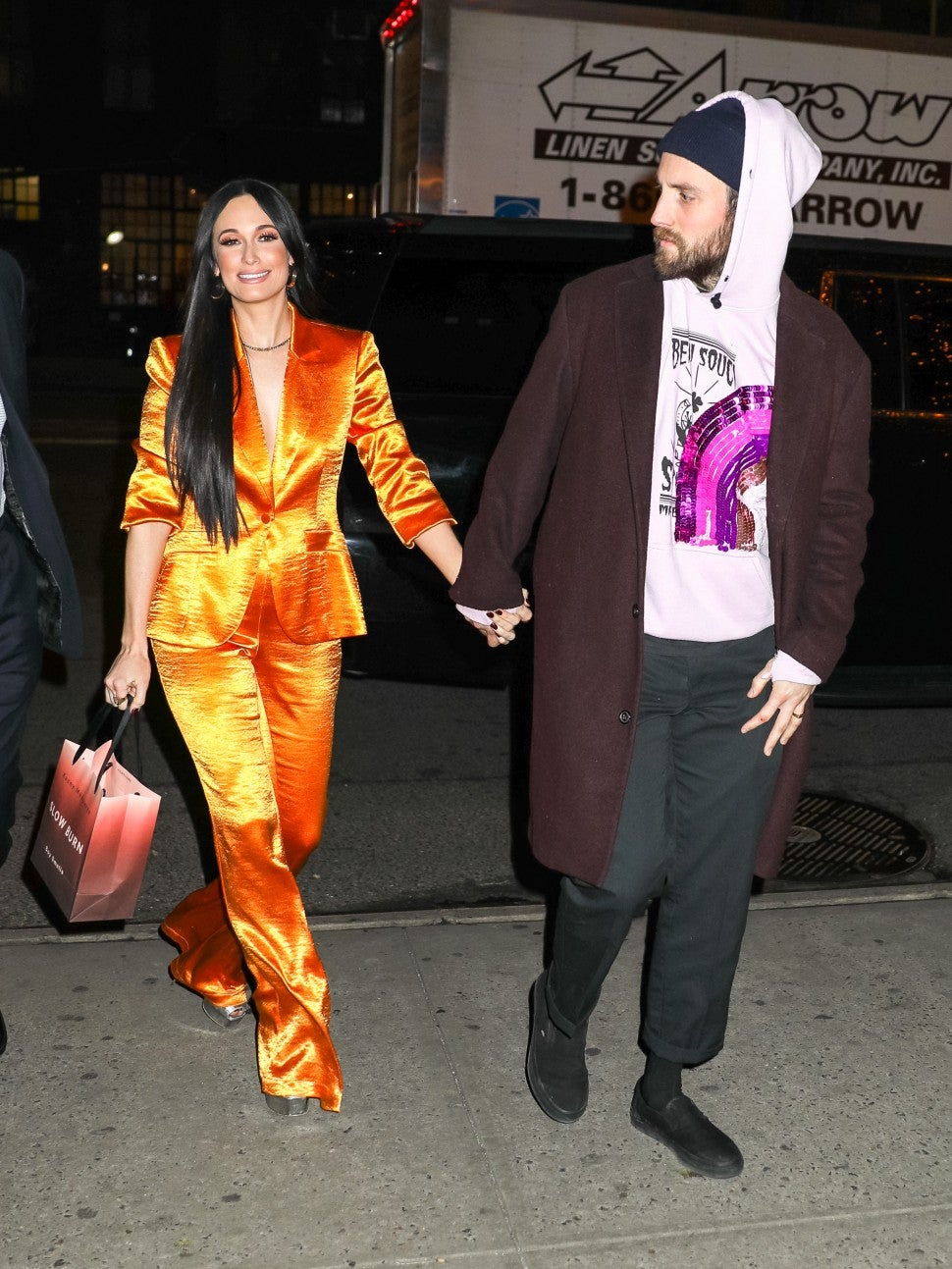 Kacey Musgraves and Ruston Kelly in New York City