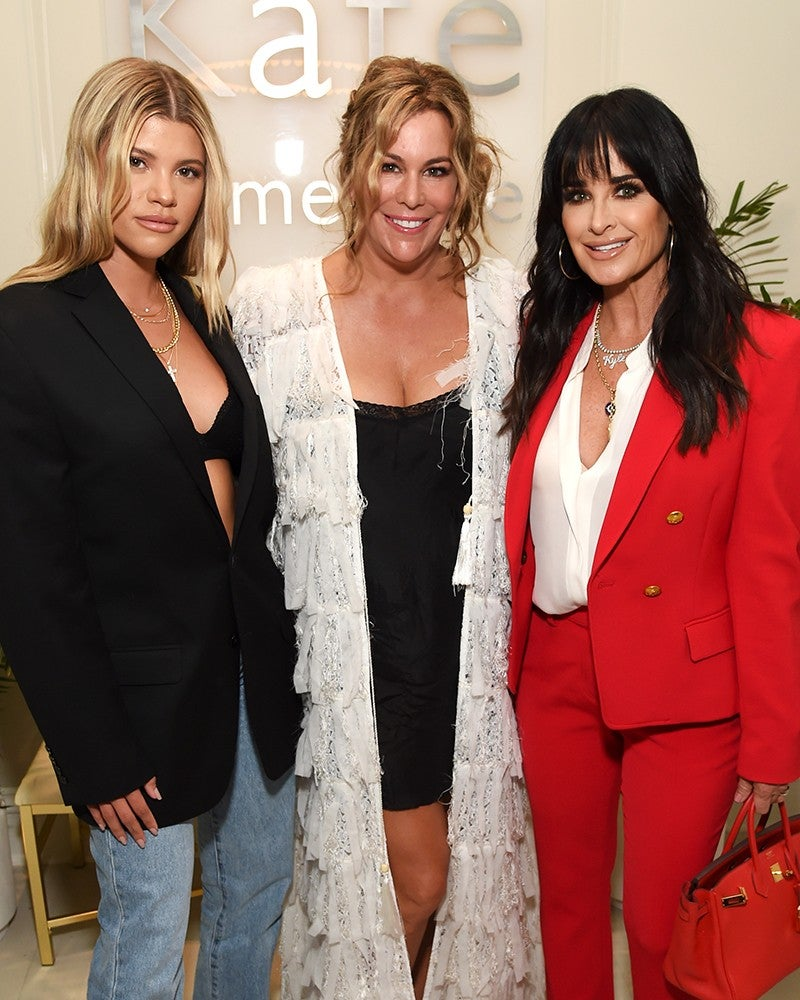 Kate Somerville, Sofia Richie and Kyle Richards