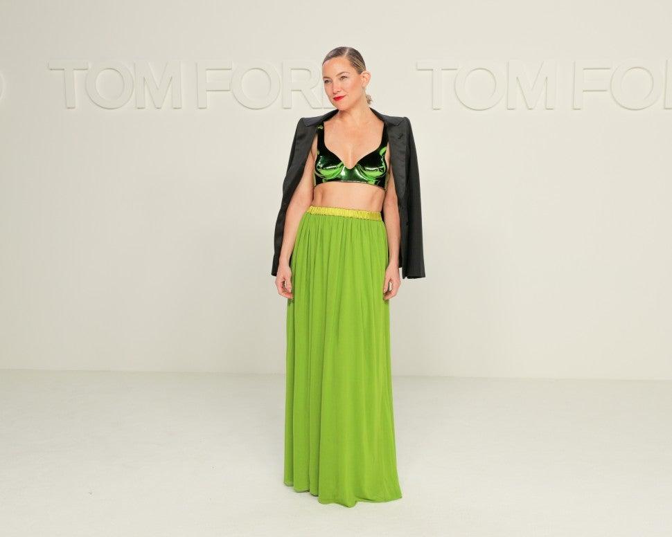 Kate Hudson at Tom Ford F/W 2020 fashion show