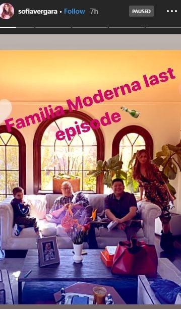 Sofia Vergara Modern Family Final Table Read
