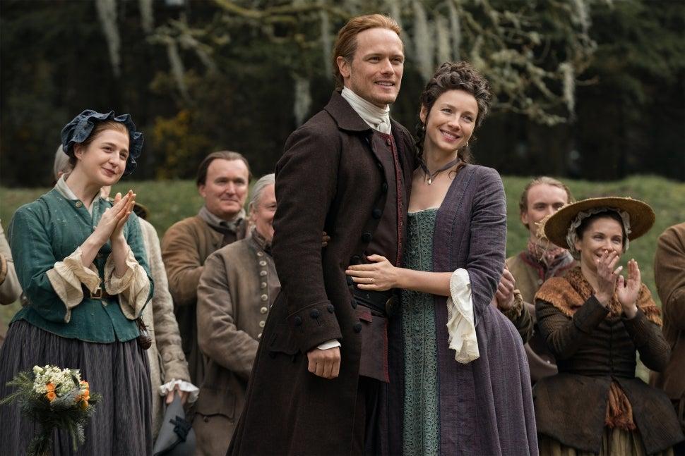 Outlander Season 5 Sam Heughan Caitriona Balfe