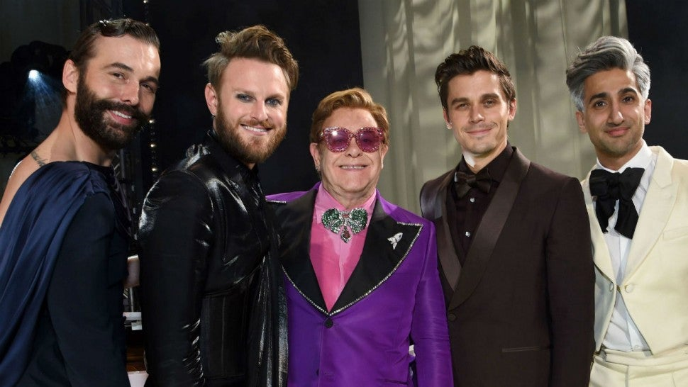 Elton John and the 'Queer Eye' cast