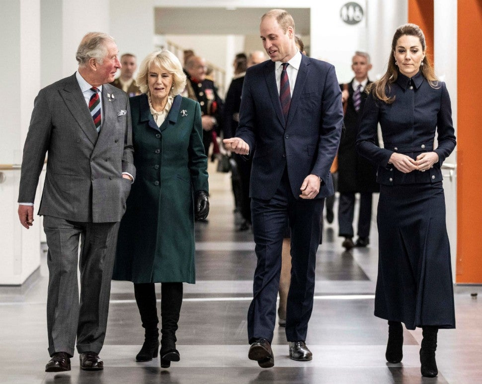 Prince Charles, Camilla, Prince William, Kate Middleton
