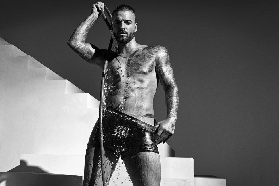 Maluma in Calvin Klein campaign spring 2020