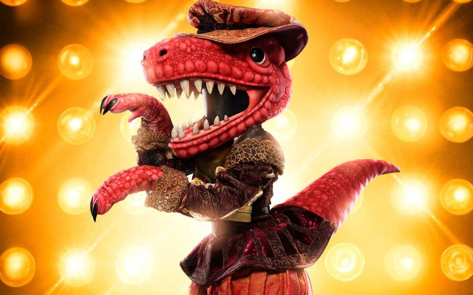 The T-Rex on The Masked Singer