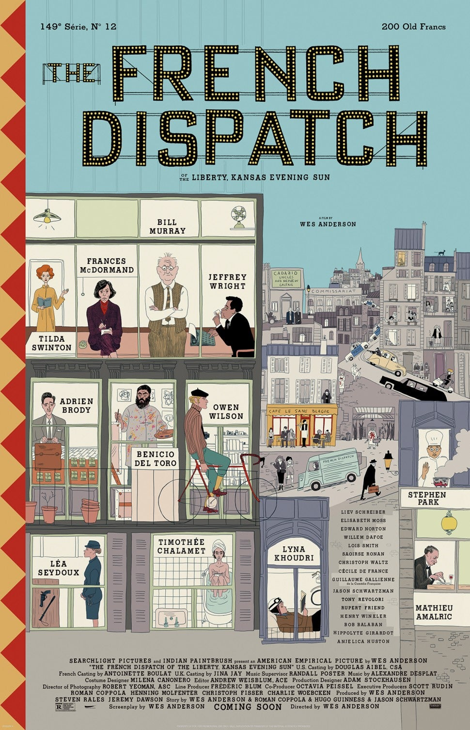 'The French Dispatch' Poster
