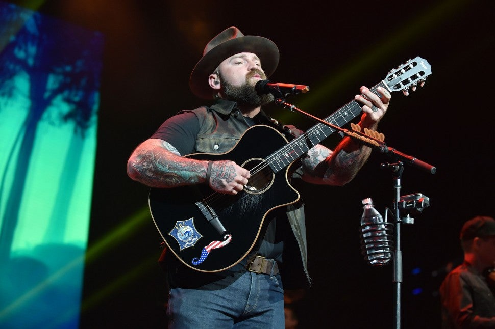 zac brown band performs on super bowl eve