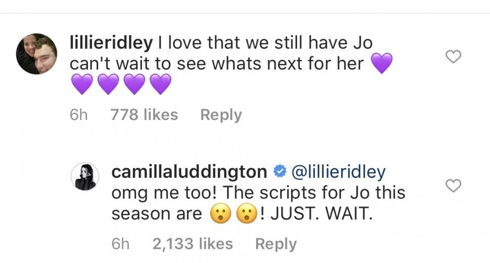 Camilla Luddington Instagram
