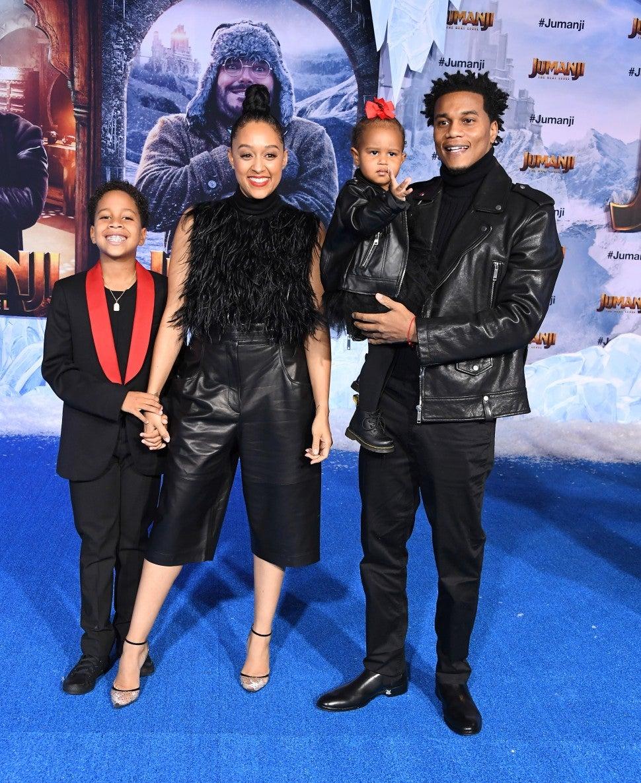 Tia Morwy and Family